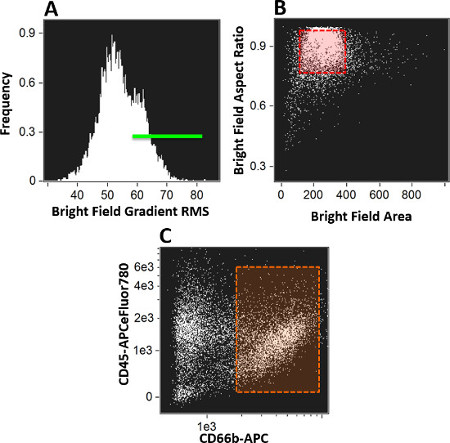 Image-based Flow Cytometry Technique to Evaluate Changes in