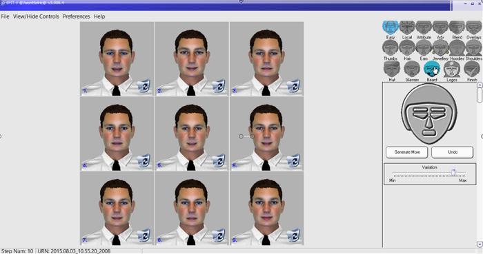 9a103865a72ca Facial construção composta método C . Ferramenta Ombros Após a selecção de  formato de rosto