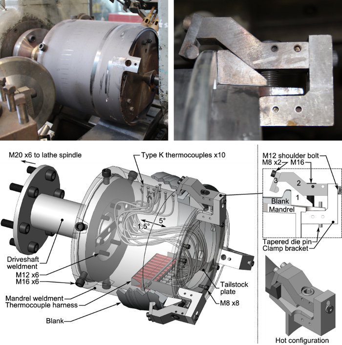 Experimental Procedure for Warm Spinning of Cast Aluminum Components