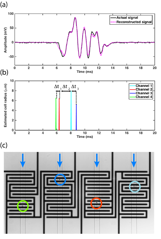 Microfluidic Platform with Multiplexed Electronic Detection
