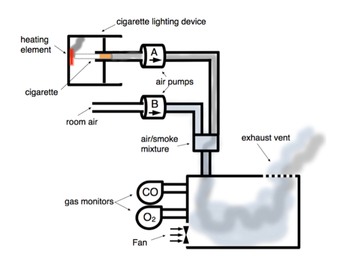 Comparing the Effects of Electronic Cigarette Vapor and