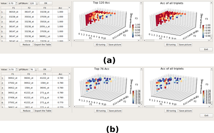 Selecting Multiple Biomarker Subsets with Similarly Effective Binary