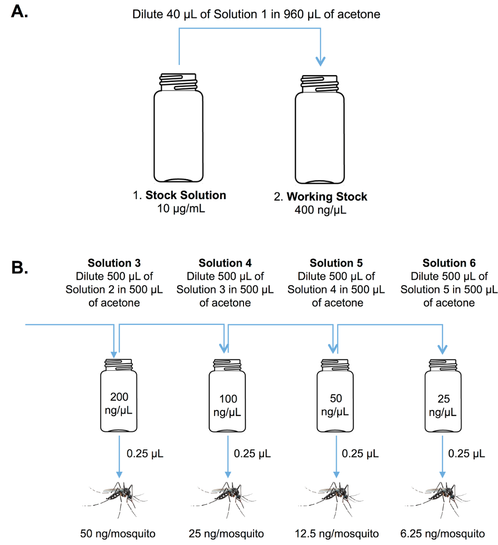 Protocols for Testing the Toxicity of Novel Insecticidal Chemistries