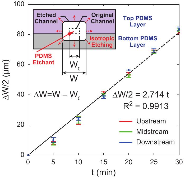 One-Step Approach to Fabricating Polydimethylsiloxane