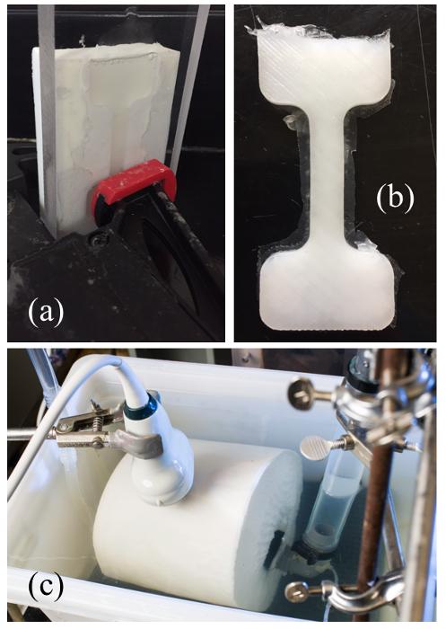 Manufacturing Abdominal Aorta Hydrogel Tissue-Mimicking