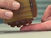 Misura di rilevamento delle vibrazioni Soglia e tattile spaziale Acuity in soggetti umani thumbnail