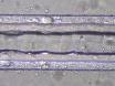 Polydimethylsiloxane mikrosıvısal kanalları sıralı ıslak gravür işlemler tarafından farklı geometrik bölümlerin imalatı tek adımlı yaklaşım thumbnail